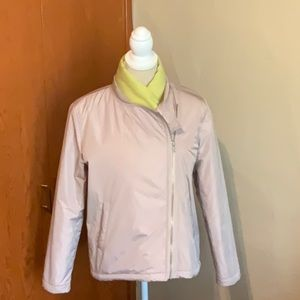 PART TWO nylon jacket quilted lining Size 6